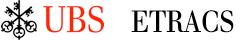 UBS ETRACS